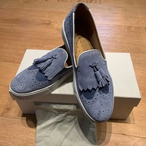 Santoni tassel loafers US 7.5